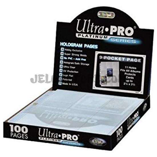 Boîte de 100 feuilles de rangement Ultra-Pro Platinum Series
