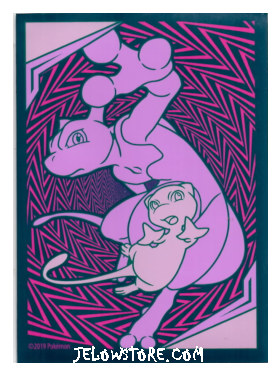 protege cartes pokemon mewtwo et mew