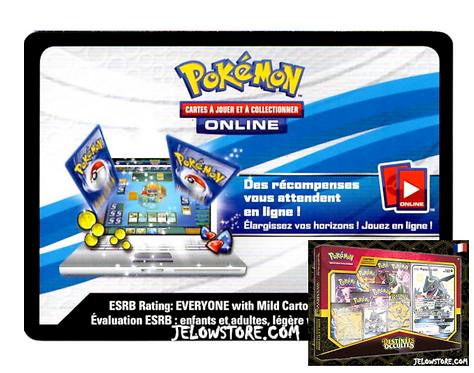 Code Online Pokémon - 1x Coffret Pouvoirs Premium Destinées Occultes