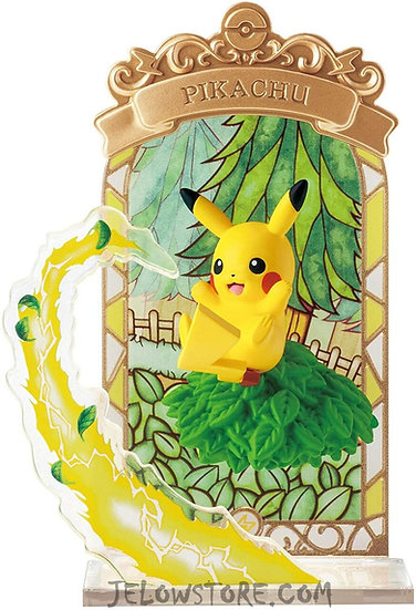 POKEMON - STAINED GLASS COLLECTION - Pikachu