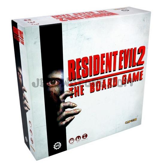 Resident Evil 2 - The Boardgame [JEU DE SOCIETE] FR