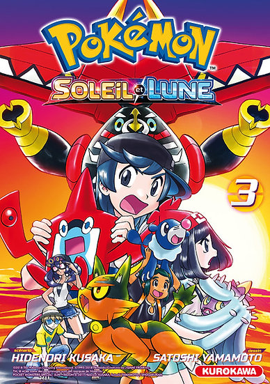 manga pokemon soleil et lune tome 3 fr