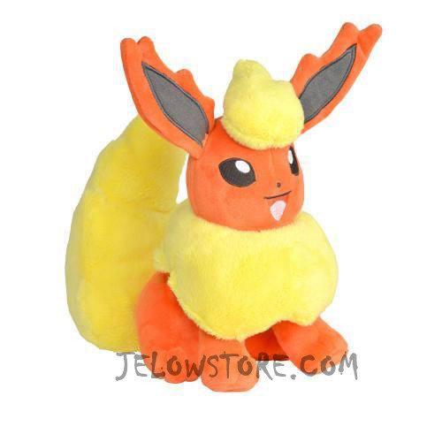 Peluche Pokémon Eevolitions 20cm [PYROLI]