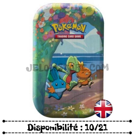 Pokémon TCG: Celebrations Mini Tins - Treecko / Torchic / Mudkip