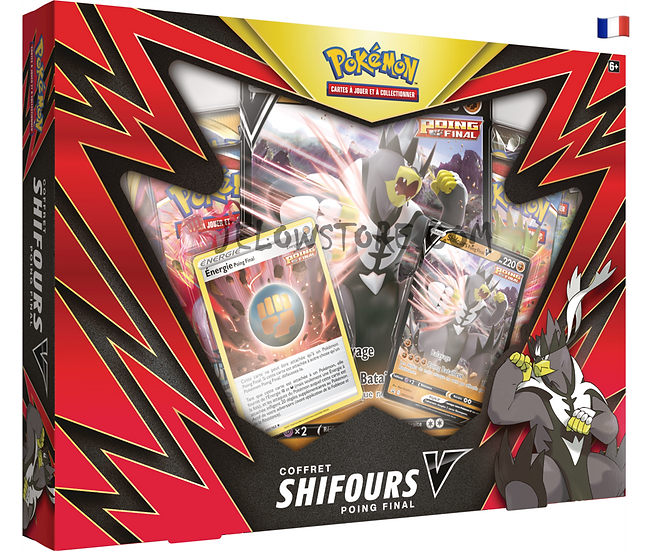 Coffret 4 boosters [SHIFOURS POING FINAL-V] FR