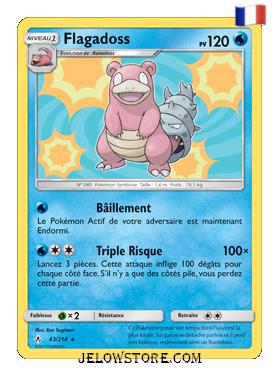 Carte Pokémon Flagadoss Holo 43/214 SL10 Alliance Infaillible