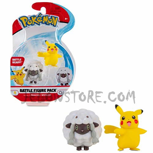 Pokémon [Battle Figure]: Pikachu et Moumouton