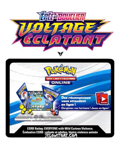 Code Online Pokémon - 1x booster [EB.4 VOLTAGE ECLATANT]