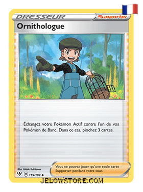 ORNITHOLOGUE 159/189 FR [EB03 TENEBRES EMBRASEES]