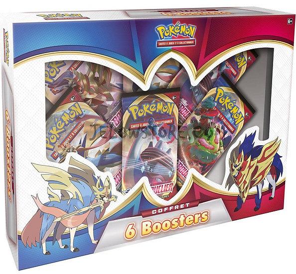 Coffret Pokémon 6 boosters 2021 FR