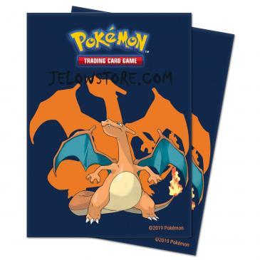 proteges cartes pokemon dracaufeu sleeves