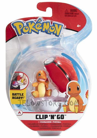 Pokémon [Pokéball Clip 'N' Go]: Salamèche + Poké Ball