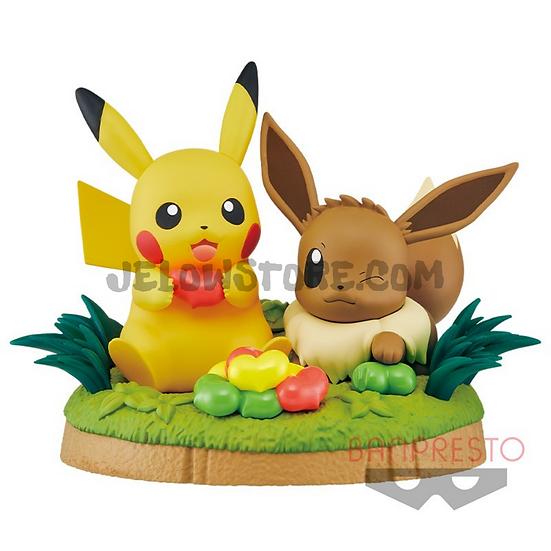 POKEMON BANPRESTO - Pikachu et Evoli 11CM