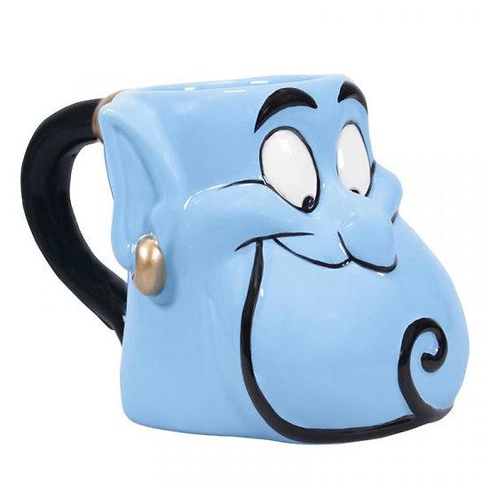 Aladdin mug Shaped Genie