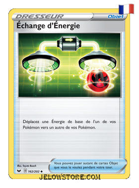 ECHANGE D'ENERGIE 162/202 FR [EPEE ET BOUCLIER]