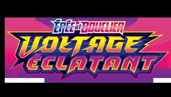 lot de cartes pokémon EB04 voltage éclatant