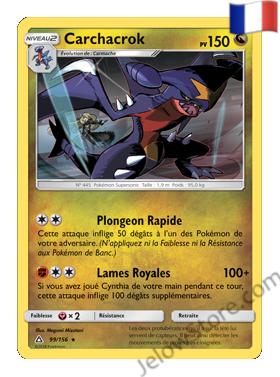 Carte Pokémon SL5 Ultra Prisme Carchacrok 99/156