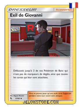 EXIL DE GIOVANNI 57/68 FR [SL11.5 DESTINÉES OCCULTES]