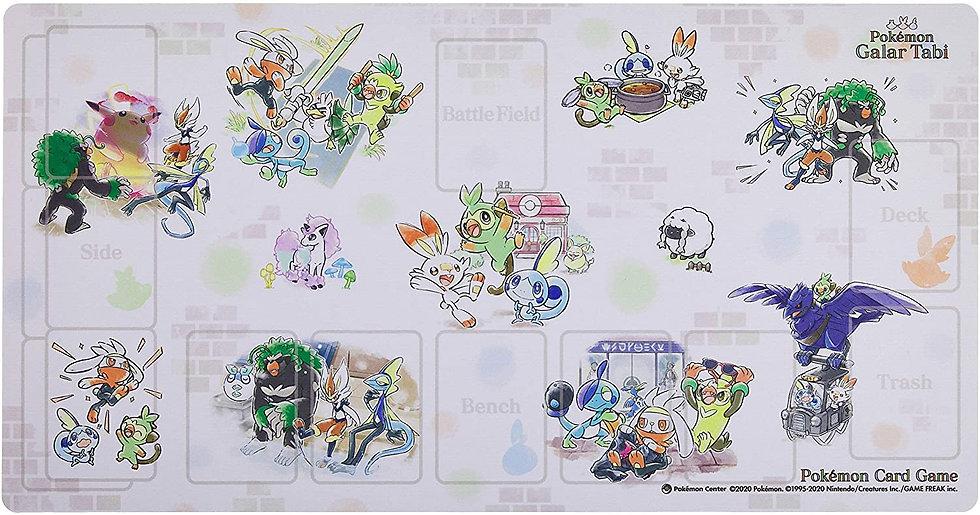 TCG JAP - Playmat Pokemon GalarTabi