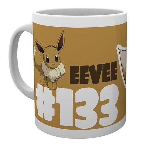 Mug pokemon evoli eevee #133