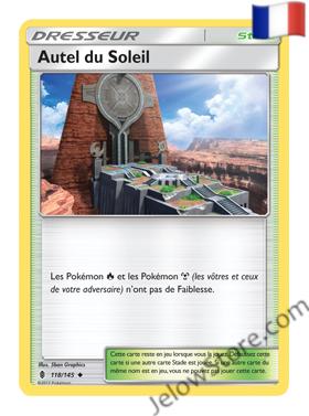 AUTEL DU SOLEIL 118/145 FR [SL2 GARDIENS ASCENDANTS]