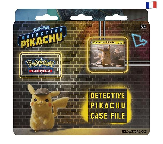 Pokémon Tripack Détective Pikachu FR