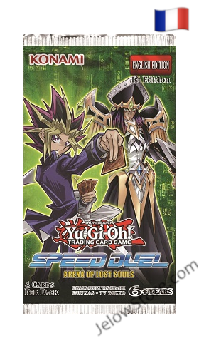 Booster Yu-gi-Oh L'Arene des Ames Perdues FR