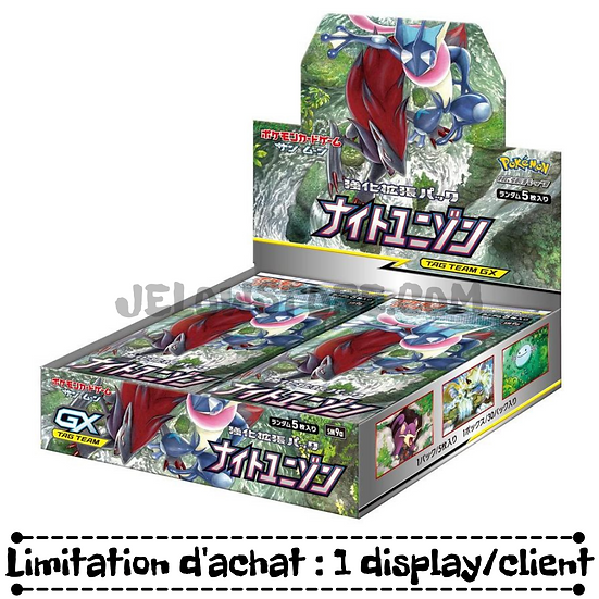 """TCG JAP SM9a - """"Night Unison"""" Box - 30 boosters"""