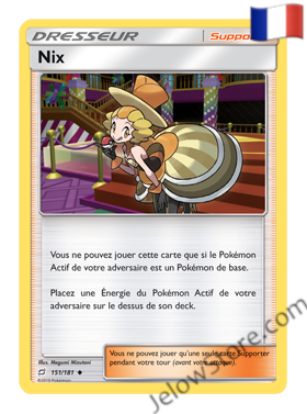 NIX 151/181 FR [SL9 DUO DE CHOC]