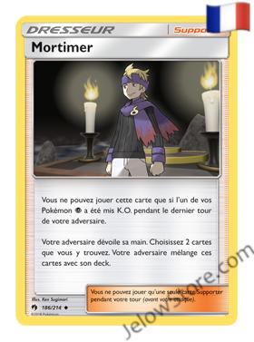 MORTIMER 186/214 FR [SL8 TONNERRE PERDU]