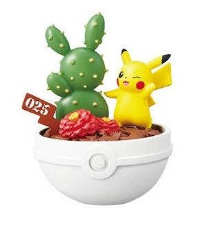POKEMON FIGURE POCKET BOTANICAL - Pikachu