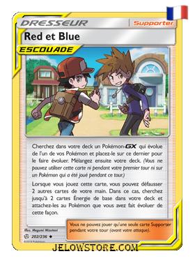 RED ET BLUE 202/236 FR [SL12 ECLIPSE COSMIQUE]