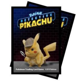 Protèges Cartes Pokémon - Détective Pikachu - Pikachu x65