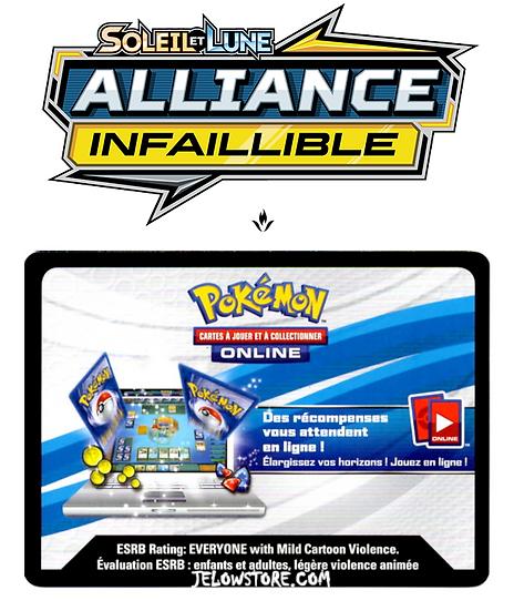 Code Online Pokémon - 1x booster [SL10 - ALLIANCE INFAILLIBLE]