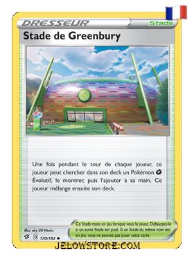 STADE DE GREENBURY 170/192 FR [EB02 CLASH DES REBELLES]