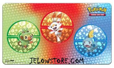 Tapis de jeu Pokémon [Ultra PRO] - Epée et Bouclier - Galar Starters