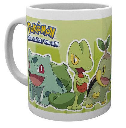 Mug Pokémon 300 ML - GRASS PARTNERS