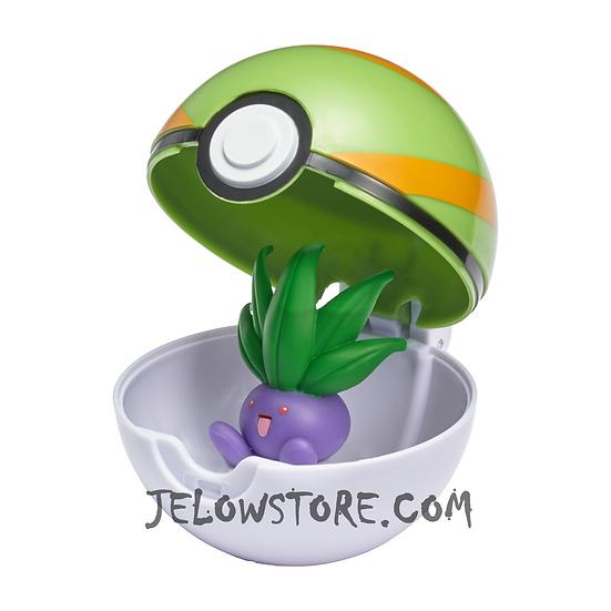 Pokémon [Pokéball Clip 'N' Go]: Mystherbe + Faiblo Ball