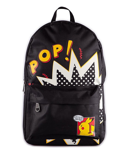 Sac à dos Pikachu - Pop Black Screen Printed Backpack [Difuzed]