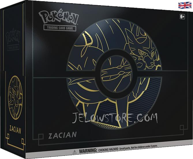 Pokémon Sword & Shield Elite Trainer Box plus - Zacian [EN]
