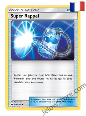 SUPER RAPPEL 124/147 FR [SL3 OMBRES ARDENTES]