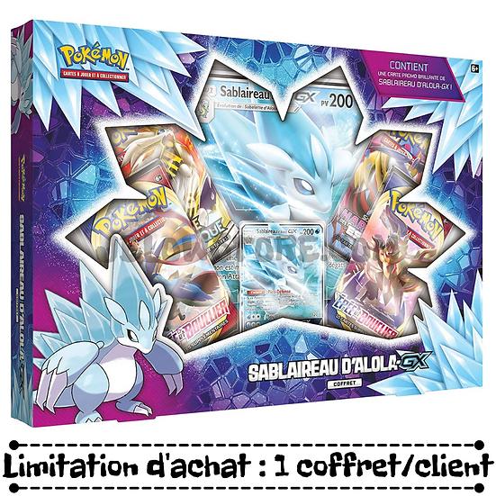 Coffret Pokémon [SABLAIREAU D'ALOLA-GX] FR