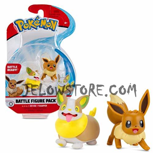 Pokémon [Battle Figure]: Voltoutou et Evoli