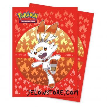 Protèges-cartes Pokémon [Ultra PRO] - Galar Starters - Flambino