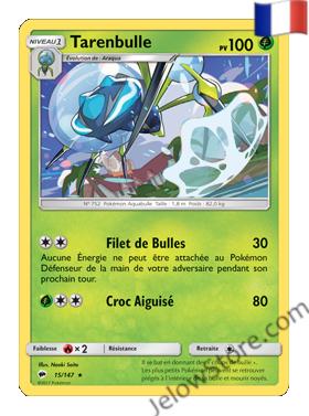 Carte Pokémon SL3 Ombres Ardentes Tarenbulle Fr 15/147