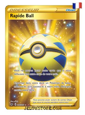 RAPIDE BALL SECRETE 216/202 FR [EPEE ET BOUCLIER]