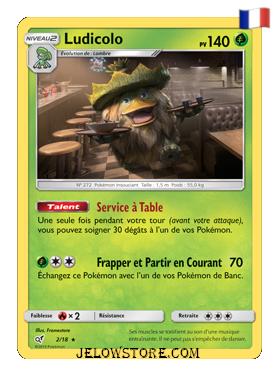 Ludicolo holographique Fr Détective Pikachu 2/18