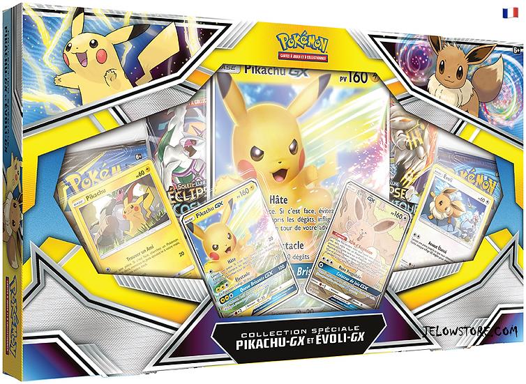 Coffret Collection Spéciale Pikachu-GX et Evoli-GX FR