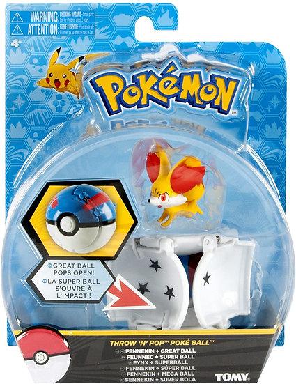 Pokémon [Pokéball Throw 'n' Pop]: Feunnec