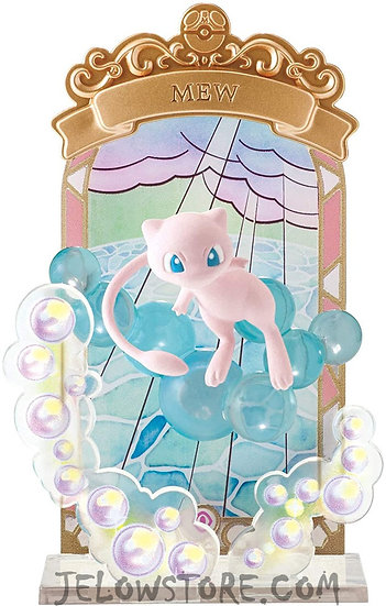 POKEMON - STAINED GLASS COLLECTION - Mew